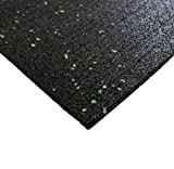 Antirutschmatte Bautenschutzmatte Gummigranulat- Antivibrationsmatte 600x600 mm 20 mm dick