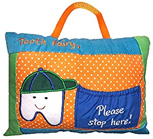 Please stop here tooth fairy pillow