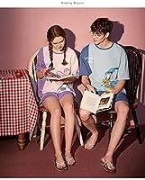 ナイトウェア, コットンカップルパジャマ、かわいい薄いホームサービス-428_l,ソフトパジャマ