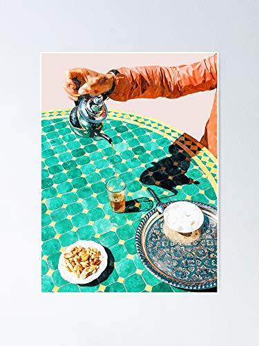 AZSTEEL Póster de Chai Painting Digitalart 11.7 x 16.5