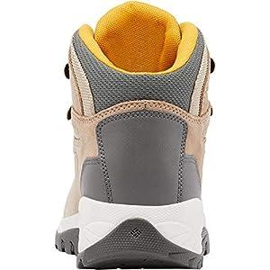 Columbia womens Newton Ridge Plus Waterproof Amped Boot Hiking Shoe, Oxford Tan/Dusty Green, 8.5 Wide US