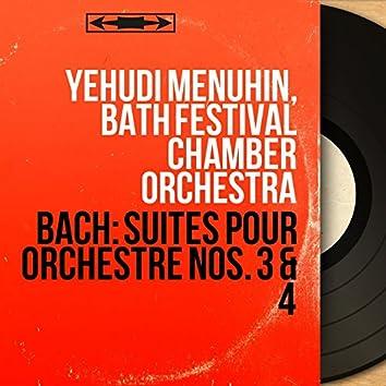 Bach: Suites pour orchestre Nos. 3 & 4 (Mono Version)