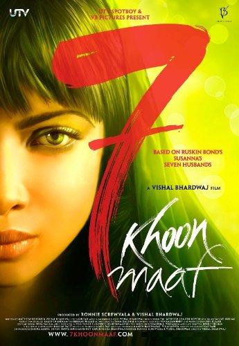 7 Khoon Maaf (New Hindi Film / Bollywood Movie / Indian Cinema DVD)