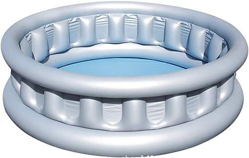 ZDYG Piscine Gonflable add Piscine rectangulaire Gonflable familiale d'été , Piscines de Paddle d'amuseHommest de Plage en Plein air pour enfants-152×43CM