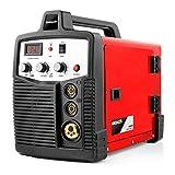 Greencut MIG-185 Saldatrice Filo Continuo Inverter Mig/Mag/MMA 185A iGBT, 0 V, Arancione, 185 A