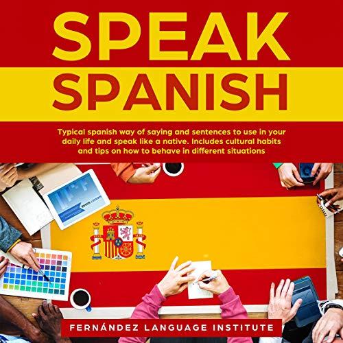 Couverture de Speak Spanish