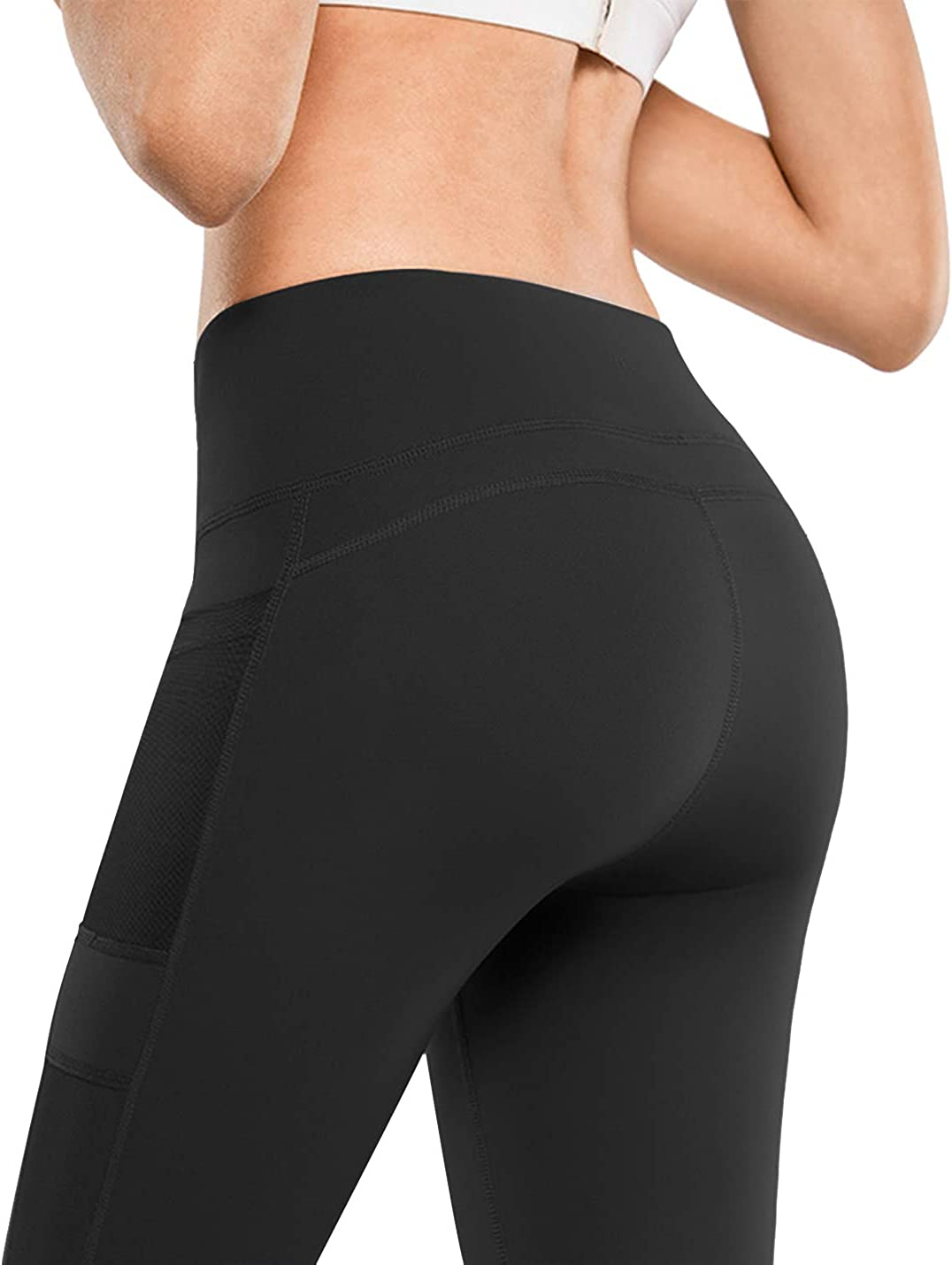Tummy Control Lynfun High Waist Yoga Pants with Pockets Workout Pants for Women 4 Way Stretch Yoga Leggings with Pockets/…