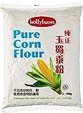 Hollyfamrs Pure Corn Harour 400g - Harina de Maíz Mejorar el sabor del plato para cualquier tipo de cocción.