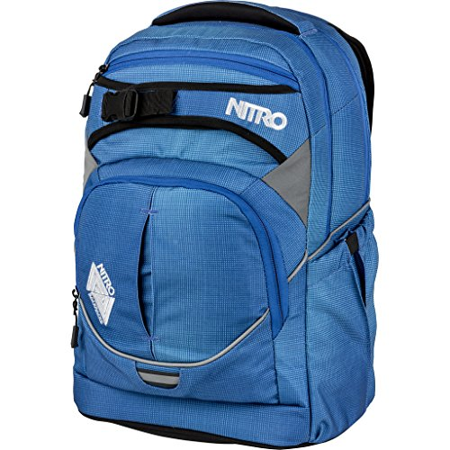 Nitro Snowboards 2018 Rucksack, 44 cm, 30 liters, Blau (Blur Brill Azul)