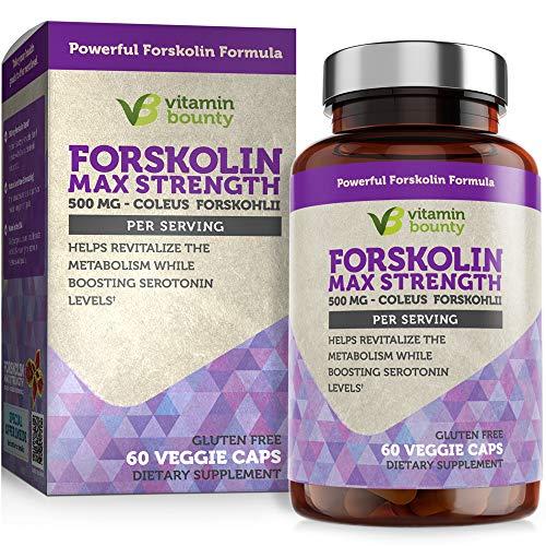 Vitamin Bounty Forskolin Max Strength