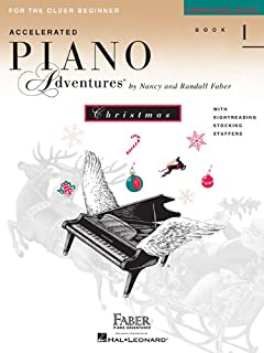 Piano Adventures for the Older Beginner Xmas Bk 1: Christmas Book 1
