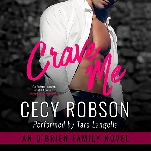 Crave Me: An O'Brien Family Novel audiobook cover art