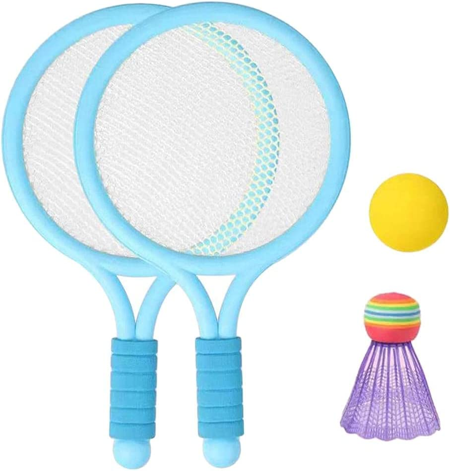 Katyma Children's Racket Set with Spring new work 1 Shuttlecock Badminton San Jose Mall Pair