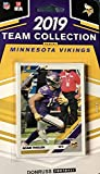 Minnesota Vikings 2019 Donruss Factory Sealed 10 Card Team Set with Kirk Cousins
