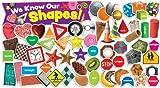 Scholastic Teacher's Friend Shapes in Photos Mini Bulletin Board, Multiple Colors (TF8094)