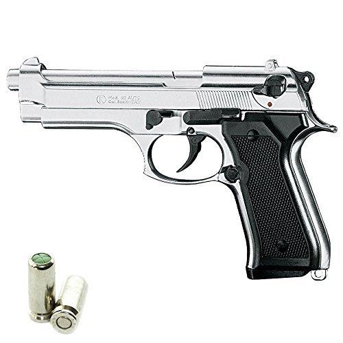 KIMAR Pistola a Salve Beretta 92 Cal.9 PAK Top Firing Acciaio