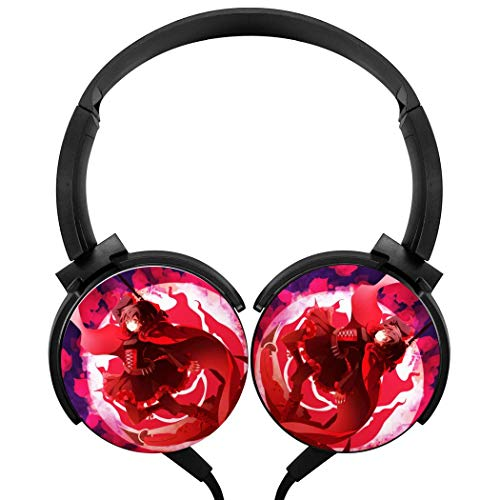 Cool-RW-by Wired Headsets Headphones Lightweight Axis Rotation Hi-Fi 3D DIY Printing Heavy Bass Stereo Music Game Headset