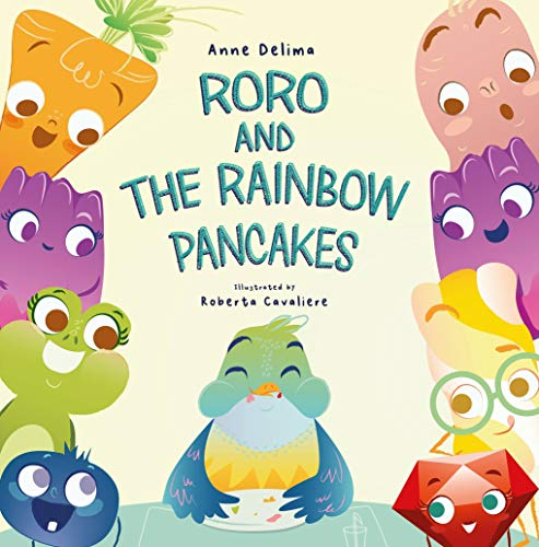 Roro and the rainbow pancakes (English Edition)