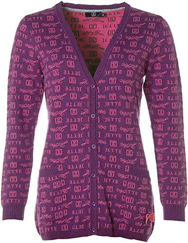 JETTE® Joop Strickjacke Strick Jacke mit Kaschmir-Anteil Lila 38