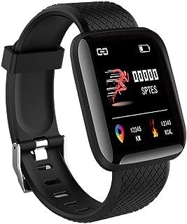 Smartwatch, Reloj Inteligente Mujer Hombre IP67 con Pulsómetro, 1.4 Inch Smartwatch Presión Arterial Monitor de Sueño GPS Podómetro Pulsera Actividad Inteligente Compatible con iOS y Android