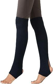 FAMILIZO Calcetines, Mujer Muslo Punto Calentadores De Piernas Yoga Calcetines Funda De Botas Leggings Calcetines De Arranque Flexible Tobilleros Antideslizantes