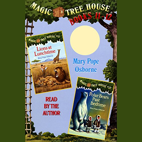 Magic Tree House audiobook cover art