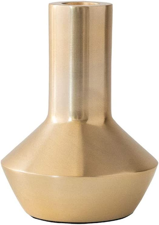 Gold Minneapolis Mall Metal Candle Holder Candelabra Taper Candlestick Decorative Trust