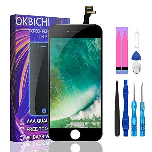 OKBICHI Pantalla LCD Táctil Reemplazo para iPhone 6 (4.7