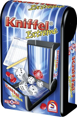 Schmidt Spiele 49240 Roll & Play: Kniffel Extreme