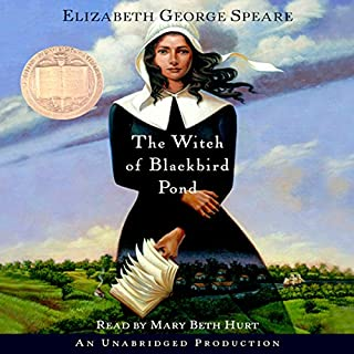 The Witch of Blackbird Pond                   By:                                                                                                                                 Elizabeth George Speare                               Narrated by:                                                                                                                                 Mary Beth Hurt                      Length: 6 hrs and 24 mins     1,239 ratings     Overall 4.5