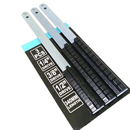 wildeal 3Stecknuss Tablett Schiene Rack Halter Aufbewahrung Organizer Regal Ständer, #3