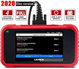 LAUNCH OBD2 Scanner CRP123E Engine ABS SRS Transmission Code Reader 5'Touchscreen, Android 7.0, Wi-fi Free Update Scan Tool, Battery Test, Auto VIN, 5 Years Warranty- Upgraded CRP123 [2020 Elite Ver.]