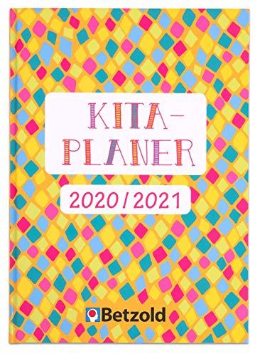 Betzold 757494 - Kita-Planer 2020/2021, Hardcover - Jahresplaner Organisation Kita-Kalender