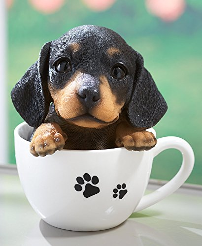 Dog Figurine - Teacup Pup - Gifts for Dog Lovers - Dachshund