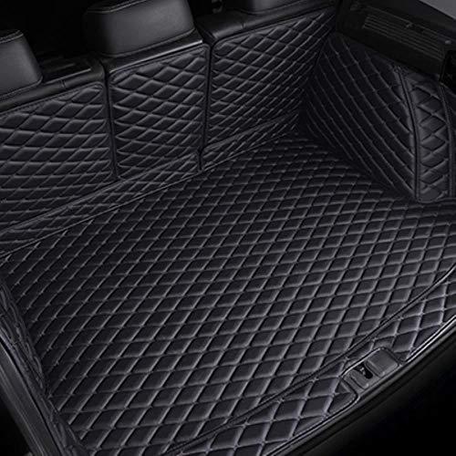 Hunulu Kofferraummatten FüR Audi A3 Sportback Tt Mk1 Q5 Q3 A7 SQ5 A8 Q7 A5 Antirutschmatte Kofferraumdecke Kofferraumwanne Schmutzmatte, Alle Schwarz,