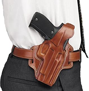Galco Fletch High Ride Belt Holster for 1911 4-Inch, 4 1/4-Inch Colt, Kimber, para, Springfield, Smith