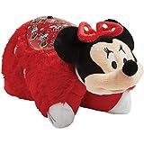 Pillow Pets Disney Rockin the Dots Minnie Mouse Sleeptime Lites - Retro Minnie Mouse Plush Night Light