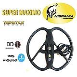 Hispania Plato Super Máximo para detectores de Metales Teknetics Omega, G-2, Gamma, Delta, Eurotek Pro.