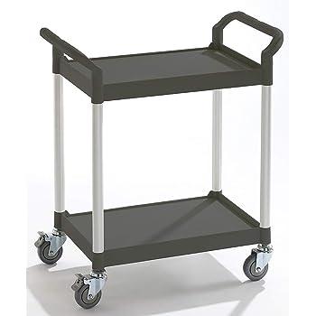 appareil de manutention appareils de manutention chariot chariot multi-usages chariot polyvalent chariot porte-bacs chariot /à tablettes char L x l x h 850 x 480 x 1000 mm 3 plateaux force 250 kg Chariot multi-usages /à tiroirs 1 tiroir