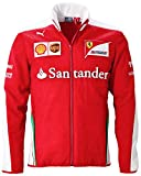 Puma Herren SF Scuderia Ferrari Formel 1 Team Softshelljacke, Rot, XL