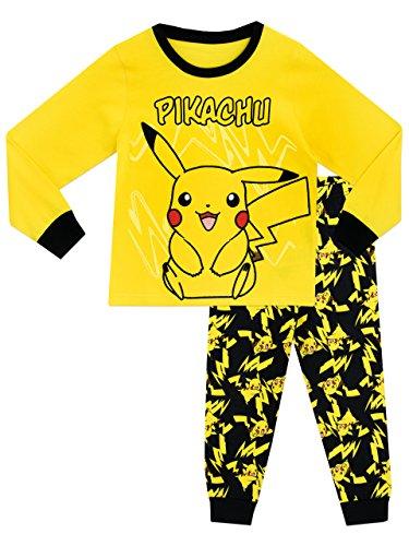 Pokemon Jungen Schlafanzug Pikachu 140