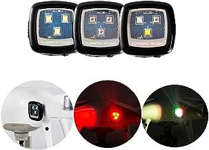 3PCS FUNTEN CREE Drone Strobe Light Night Flights Drone Quadcopter DJI Spark Inspire 1 2 Phantom 3 4 Mavic Pro Air Typhoon H Yuneec Matrice Navigation Rechargable - White+Red+Multi Color