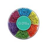 Trombones multicolores, 6 couleurs différentes, 480 pièces