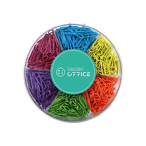 Farbig sortierte Büroklammern, 480...