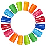 | Set of 16 | Spectrum Unbreakable Plastic 10oz Kids Juice Tumblers in 8 Assorted Colors