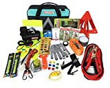 BLIKZONE Auto Roadside Assistance Car Kit Aqua 81 Pc Accessories...