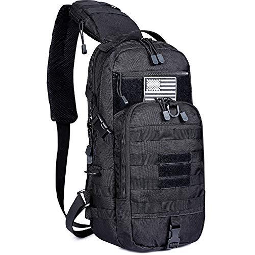 G4Free EDC Bag Tactical Sling Bag Backpack Molle Chest Shoulder...