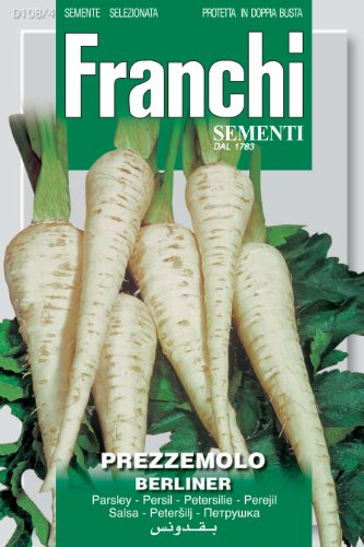 Franchi Petersilienwurzel-Samen, italienische Aufschrift