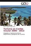 Turismo en Caribe Insular 2000 - 2013: Llegadas e ingresos turísticos, alojamiento y pasajeros de cruceros