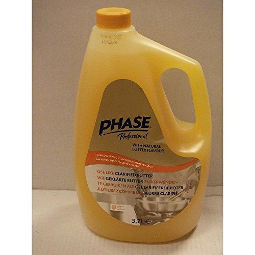 Phase Professional Pflanzenfett Bakken en Braden 3,7l Flasche (Gastronomie-Qualität)